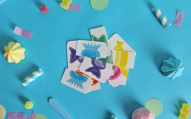 gioco carte caramelle monelle