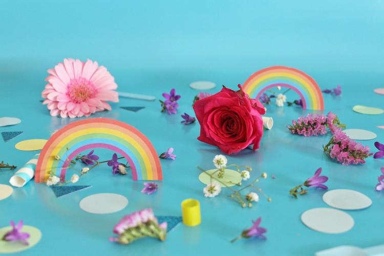 Arcobaleno di fiori