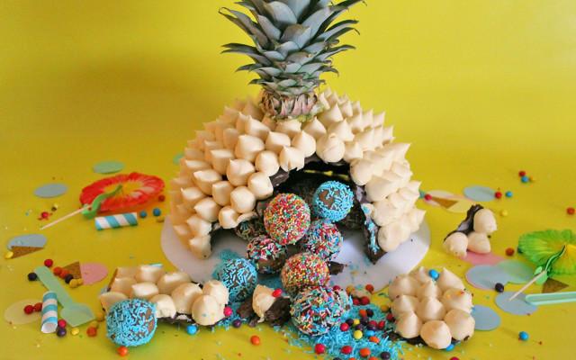 Torta sorpresa piñata