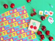 KIT carta da regalo pattern slot machine
