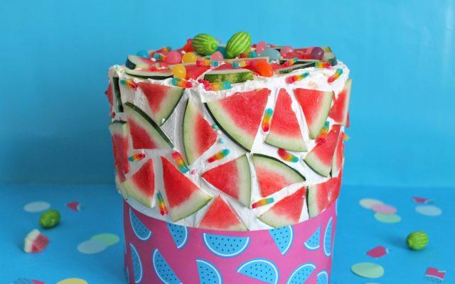 Torta sorpresa anguria