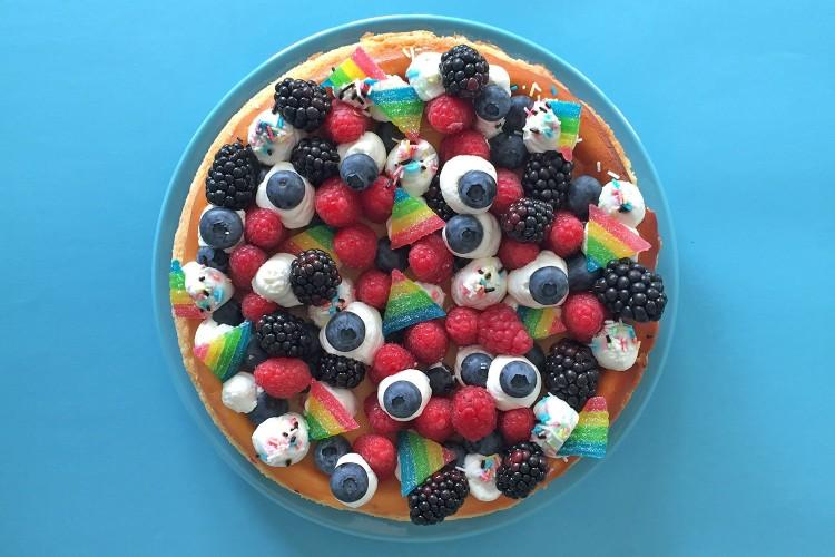 Cheesecake alla ricotta con frutti di bosco