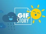 il weekend con tempo incerto raccontato in GIF