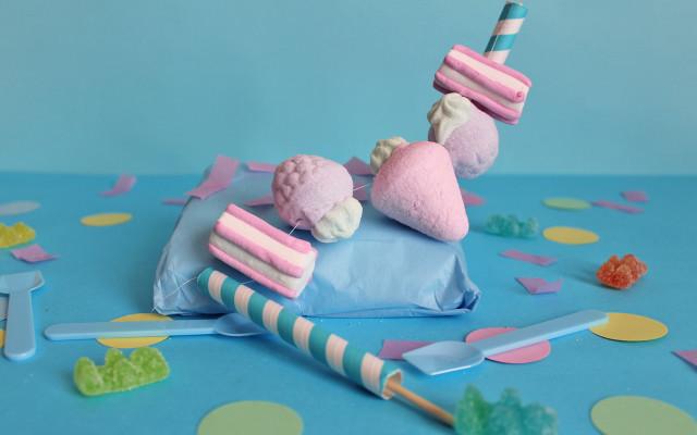 Ghirlanda di caramelle