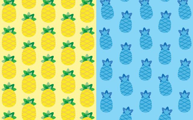 carta-da-regalo-pattern-ananas-pineapple-supercolors