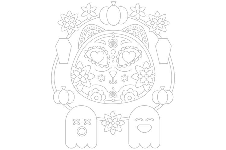 halloween-supercolors-coloring-mandala-fantasmi-gatti-zucche-4