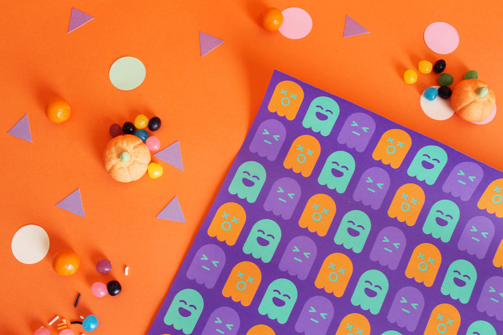 kit-pattern-halloween-fantasmini-pacman-festa-super-colors-scatoline-dolcetto-scherzetto-0